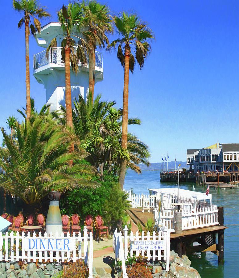 Forbes Island Entrance by Bonnie Follett