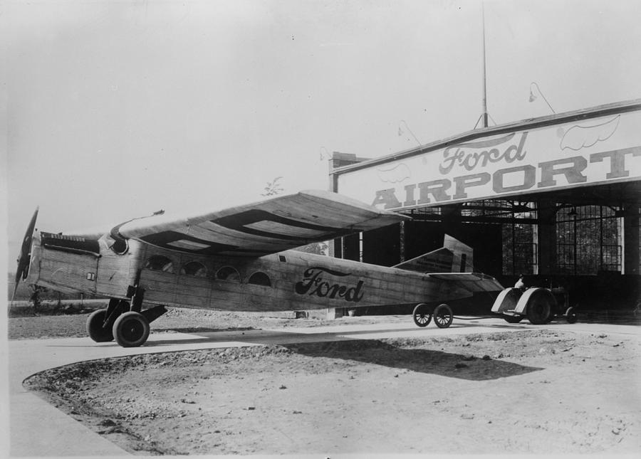 Ford Airport Photograph by General Photographic Agency