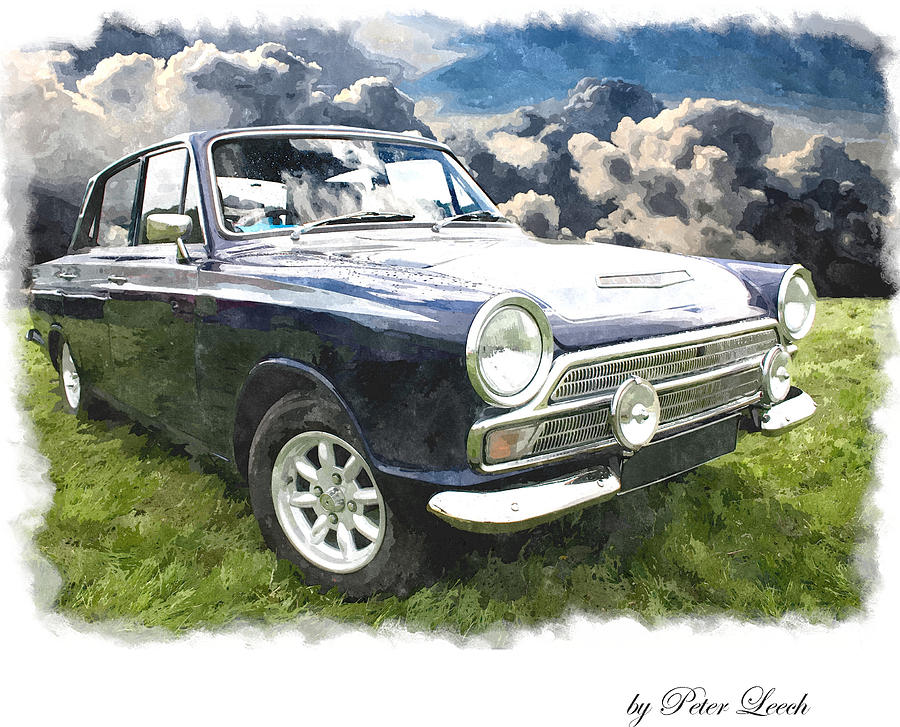 Ford Cortina 1 by Peter Leech