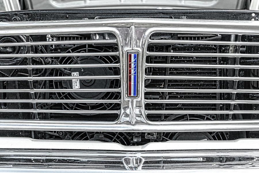 Ford Falcon Grill by Sharon Popek