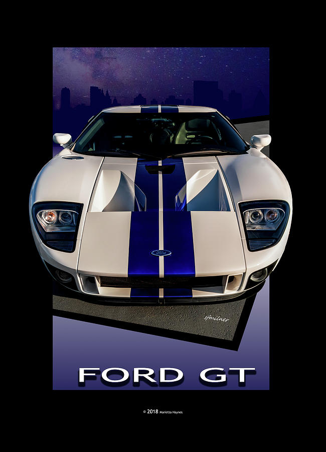 Ford GT - City Escape by Steven Milner