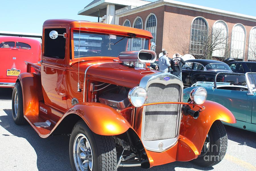 A 1930 FORD LOW RIDER MUSCLE TRUCK by JOHN TELFER