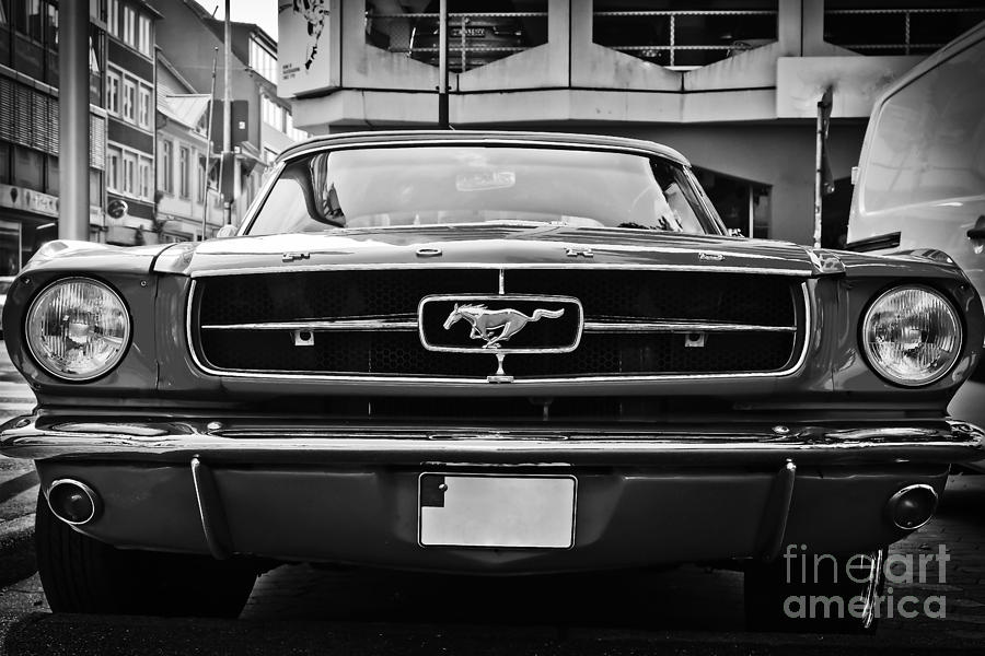 Ford Mustang Vintage 1 by Jesse Watrous