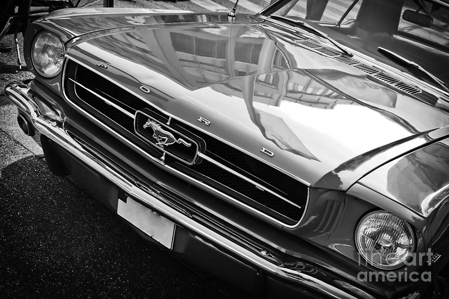 Ford Mustang Vintage 2 by Jesse Watrous