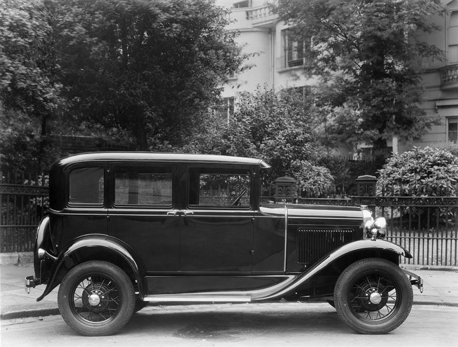 Ford Saloon Photograph by Sasha