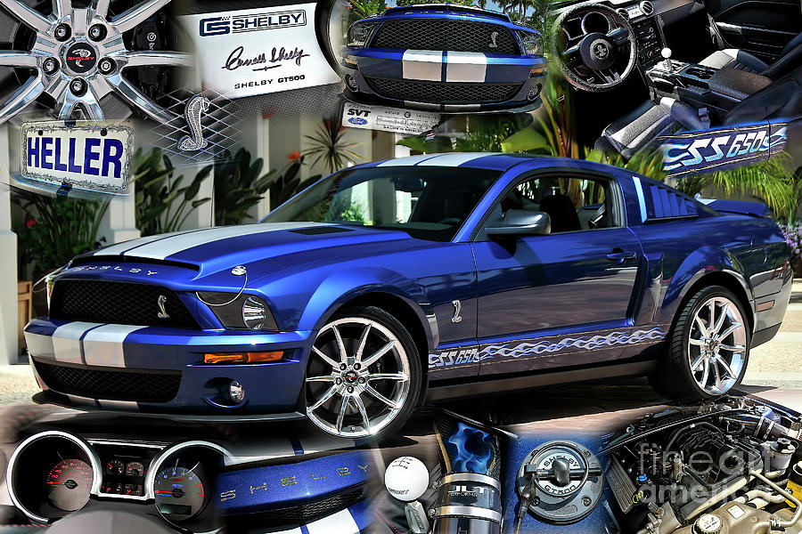 Ford Shelby Mustang Super Snake by Charles Abrams