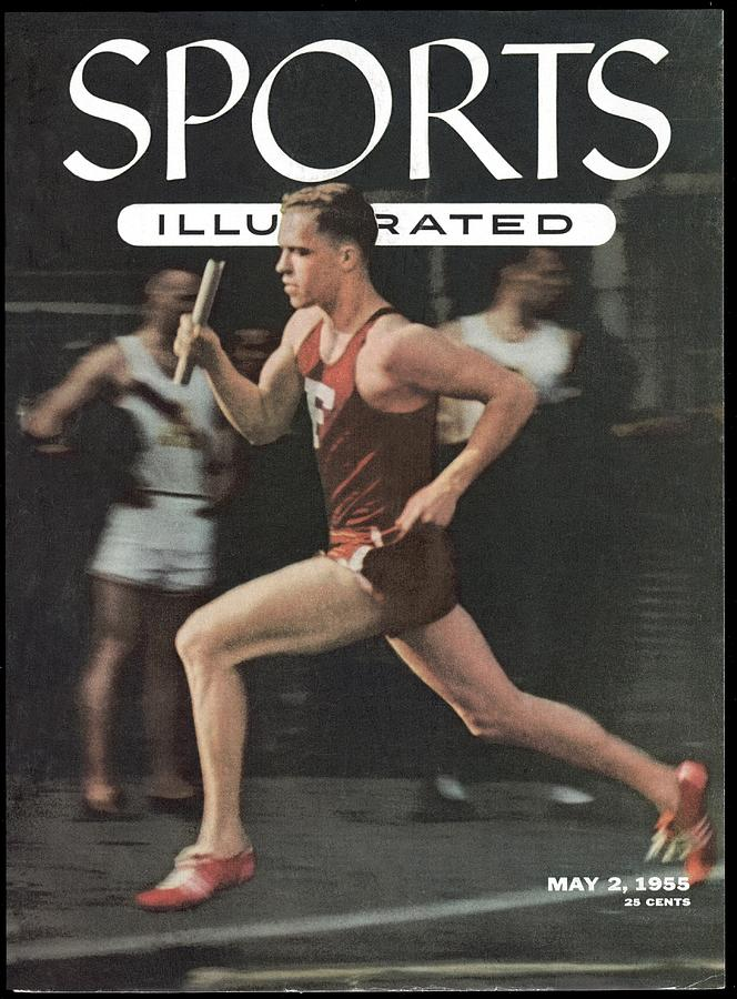 Fordham University Tom Courtney, 1954 Penn Relays Sports Illustrated Cover Photograph by Sports Illustrated