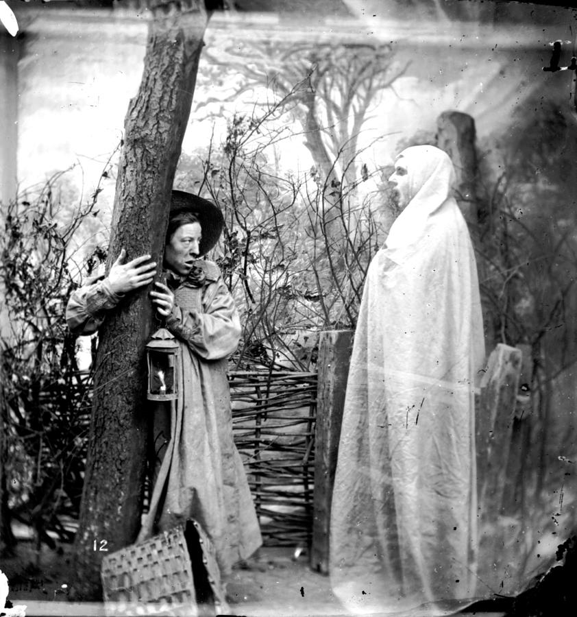 Forest Apparition Photograph by London Stereoscopic Company