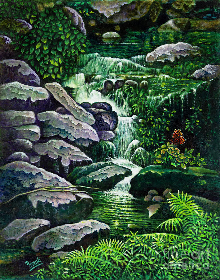 Forest Brook 5 by Michael Frank