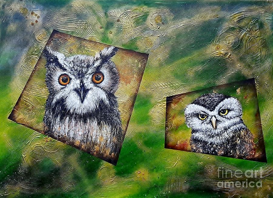 Forest buddies  by Elwira Bernaciak