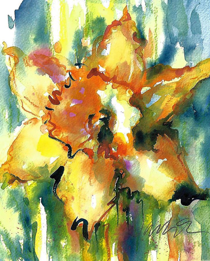 Forest Daffodil in the Rain The Prayer by Jacki Kellum