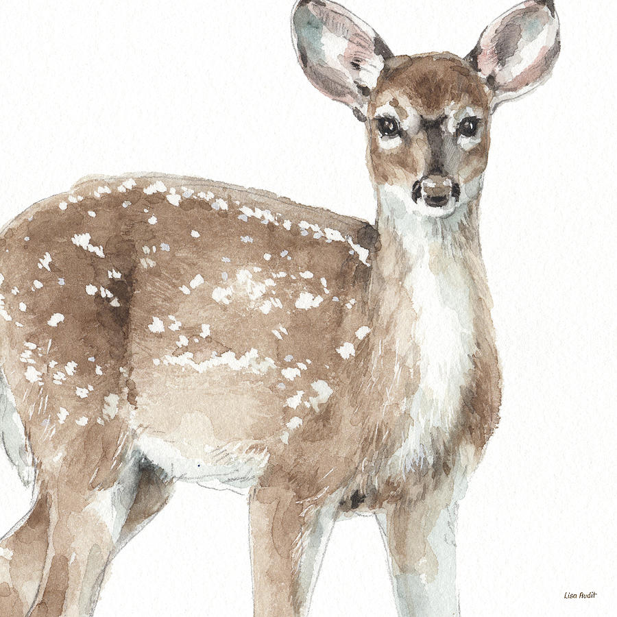 Animals Painting - Forest Friends Vi by Lisa Audit