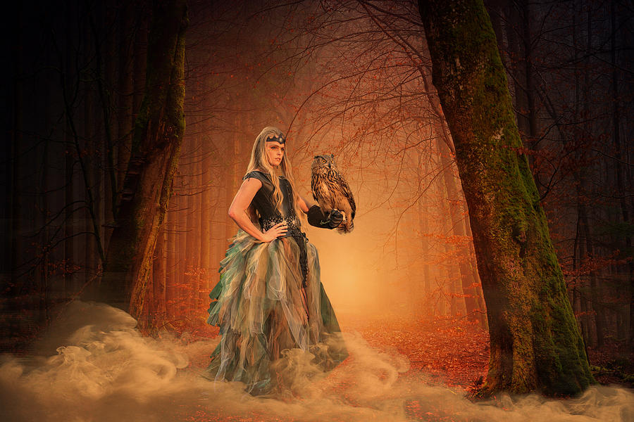 Forest Goddess by Wes and Dotty Weber