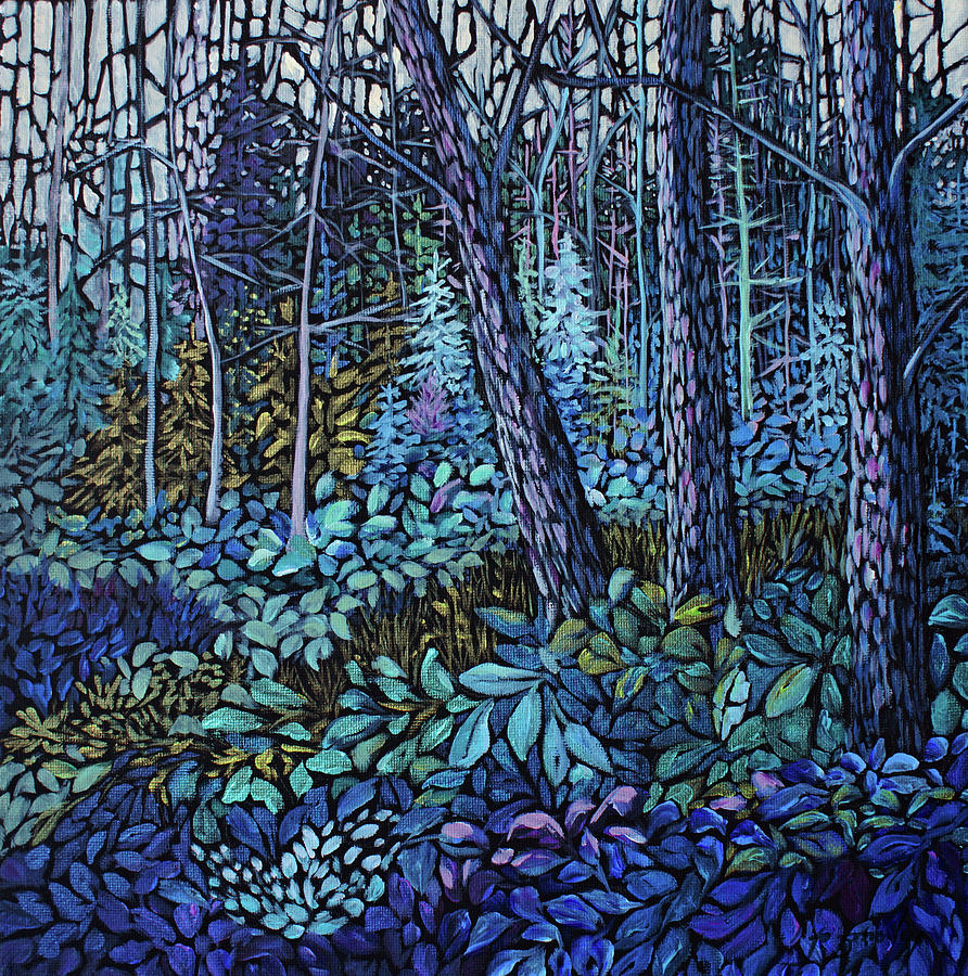 Forest in Colour Series 4 by Joanne Smoley