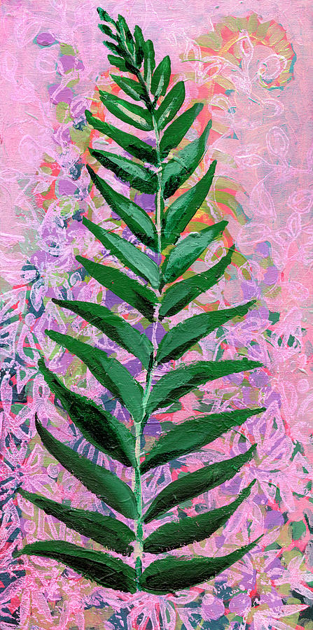Fern Painting - Forest Layers by Jennifer Lommers