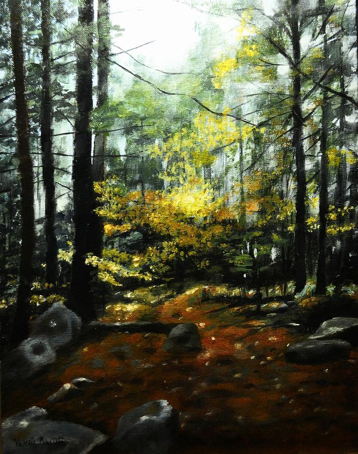 Forest Light by Valerie Bassett