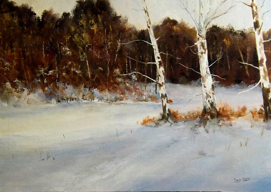 FOREST SNOW by Barry BLAKE