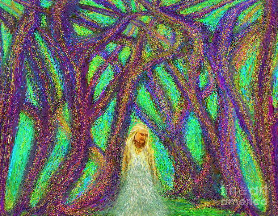 Forest Woman by Hidden Mountain