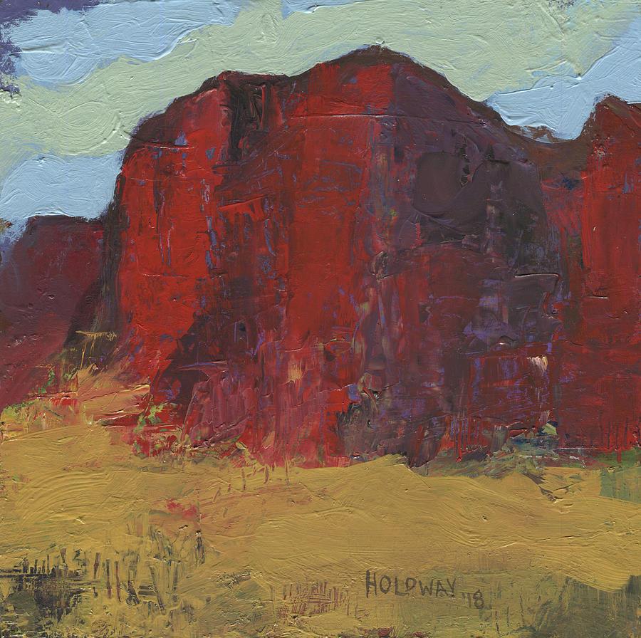 Glowing Rock by John Holdway