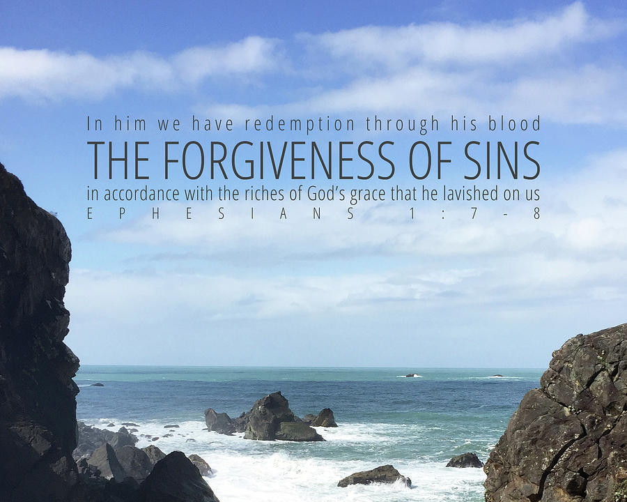 Forgiveness Photograph - Forgiveness of Sins by April Beaver