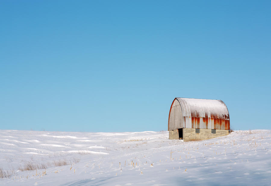 Barn Photograph - Forgotten Barn by Todd Klassy