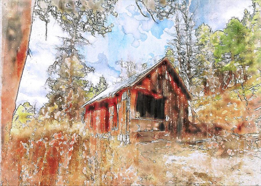 Forgotten Cabin by Jennifer Grossnickle