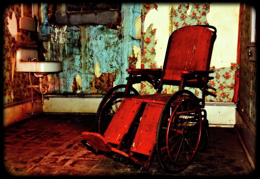 Forgotten Wheelchair Photograph