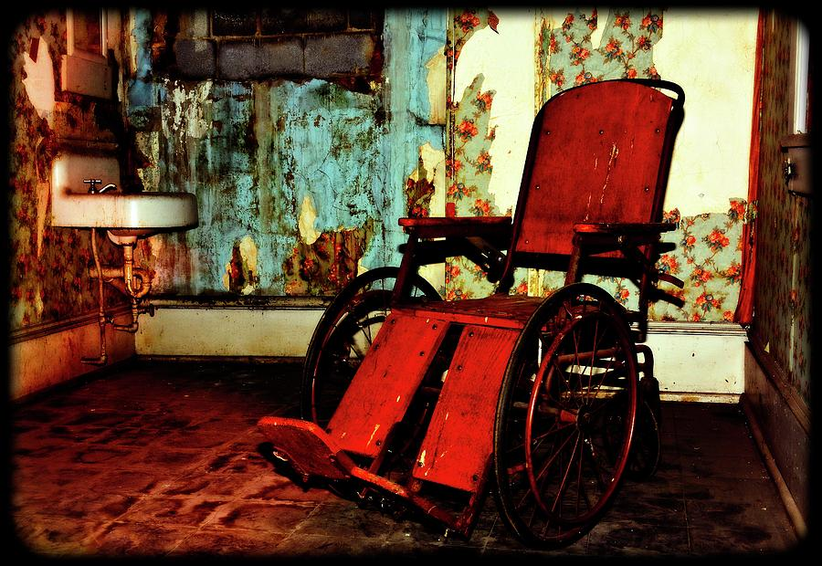 Forgotten Wheelchair Mixed Media