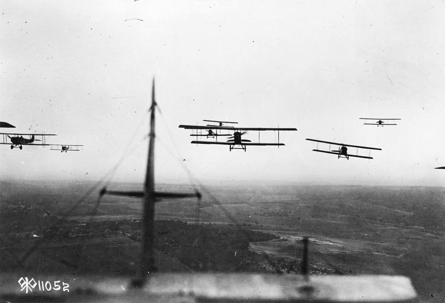 Formation Flying Photograph by Hulton Archive