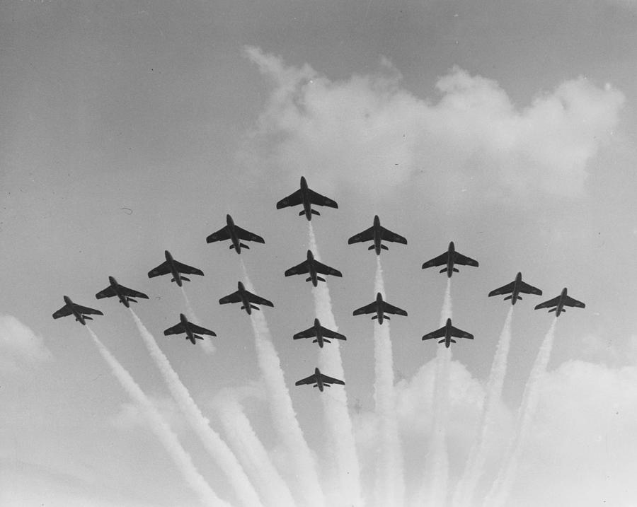 Formation Flying Photograph by Miller