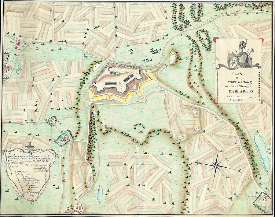 FORT GEORGE, 1782 by Thomas Walker