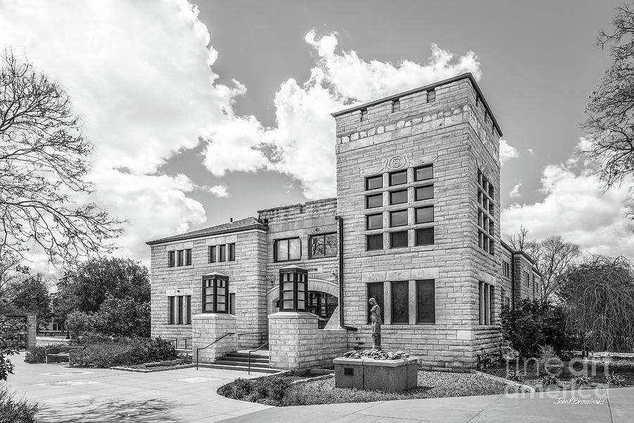 Fort Hays State University Allen Hall  by University Icons