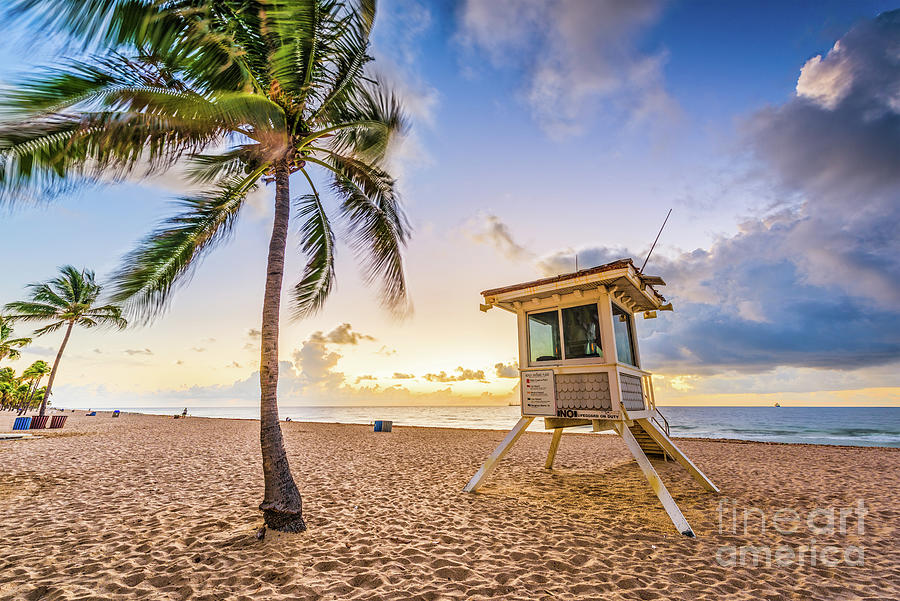 Fort Lauderdale Beach Photograph by Sean Pavone