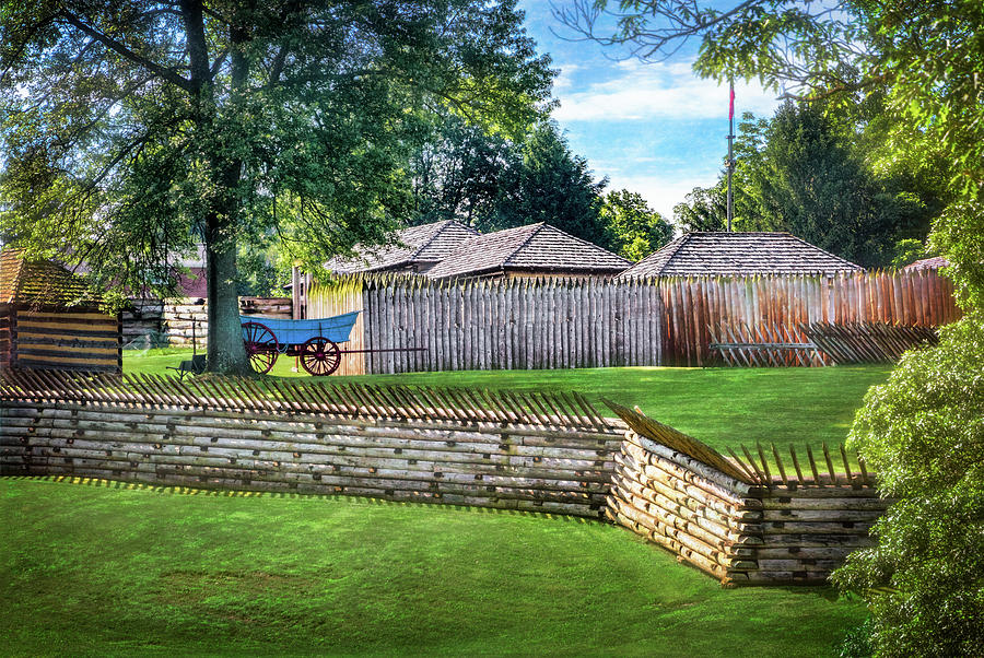 Fort Ligonier by Carolyn Derstine