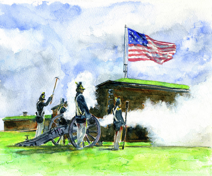 Fort McHenry by John D Benson