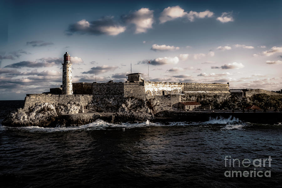 Fort Morro Havana Harbor by Stefan H Unger