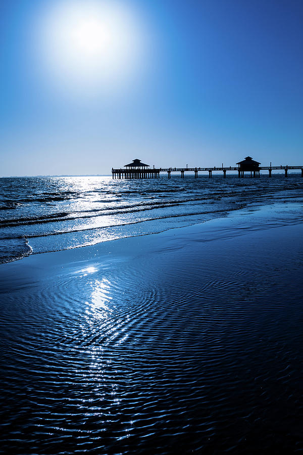 Fort Myers Beach Pier Photograph by Lightkey