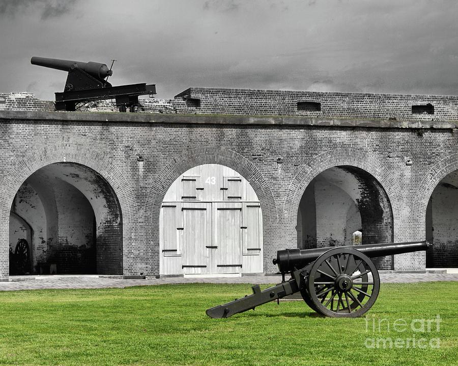 Fort Pulaski Artillery by Tom Gari Gallery-Three-Photography