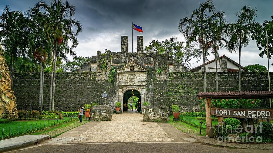 Fort San Pedro Cebu by Adrian Evans