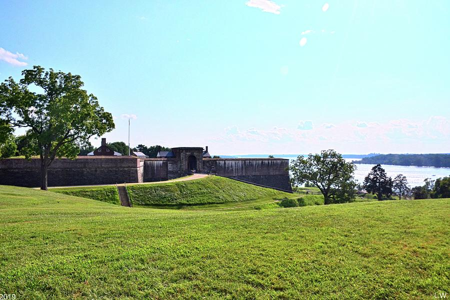 Fort Washington On The Potomac River by Lisa Wooten