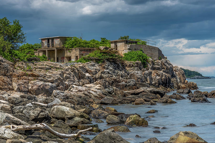 Fort Williams Remains II  by Tony Pushard
