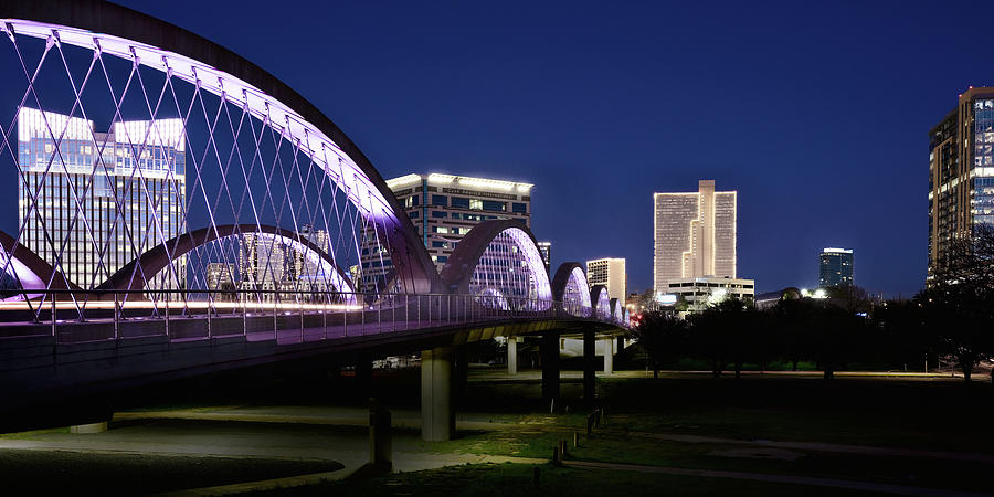 Fort Worth Texas Skyline 070119 by Rospotte Photography