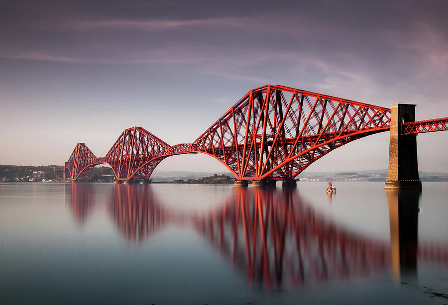 Forth Rail Bridge Photograph by Jon Wild