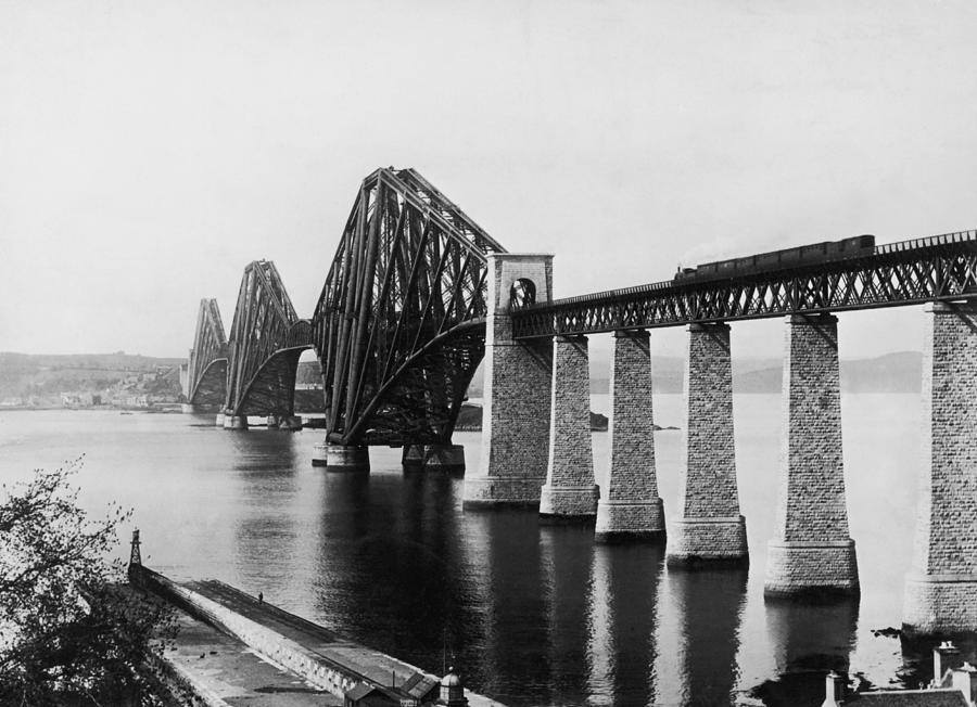 Forth Railway Bridge Photograph by Hulton Archive