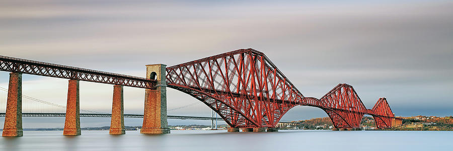 Forth Railway Bridge - South Queensferry by Grant Glendinning