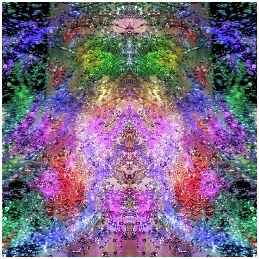 Fountain Of Color  Mixed Media by Don Wright