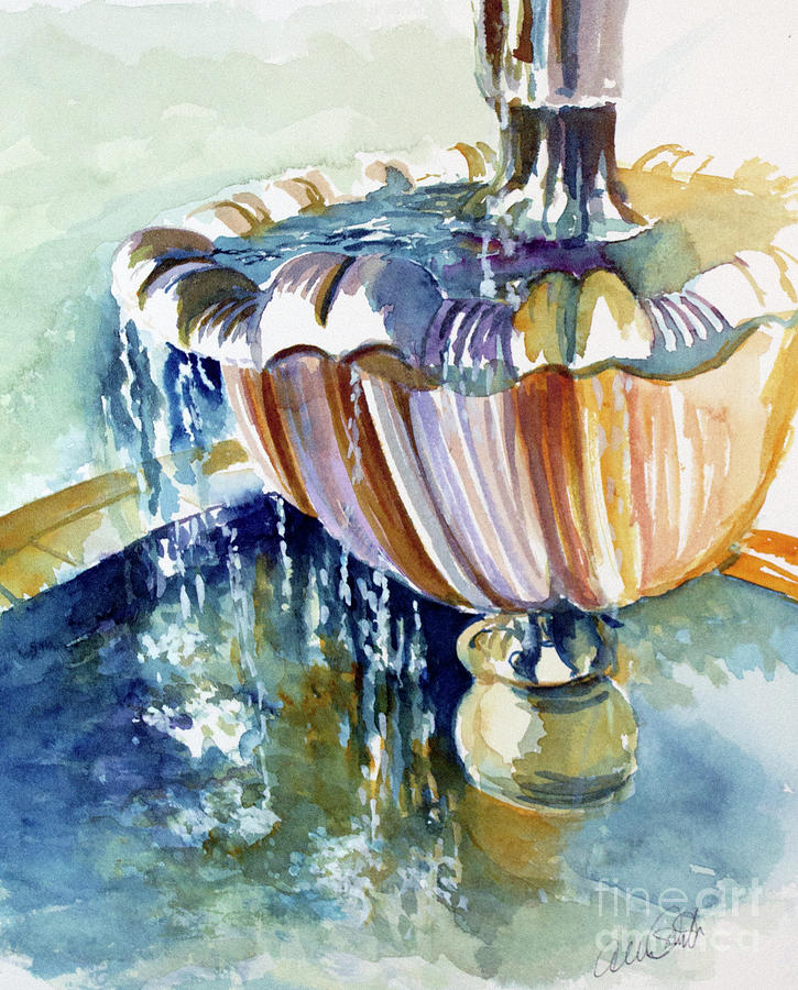 Fountain Of Hope Painting