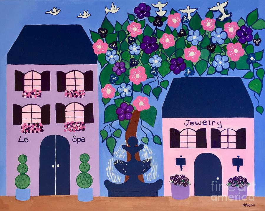 Fountain Street by Marti Magna