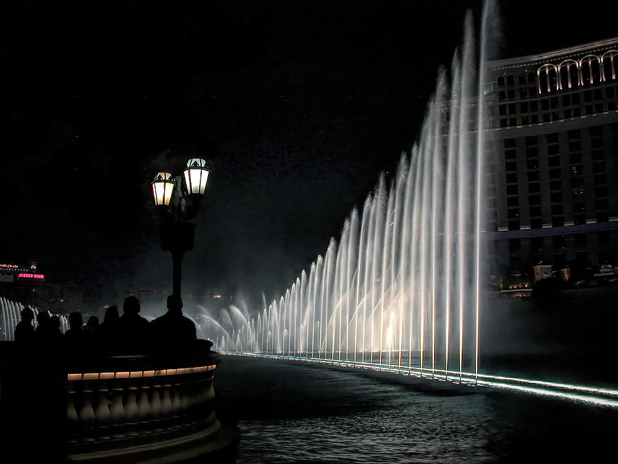 Fountains At Bellagio by PAUL COCO