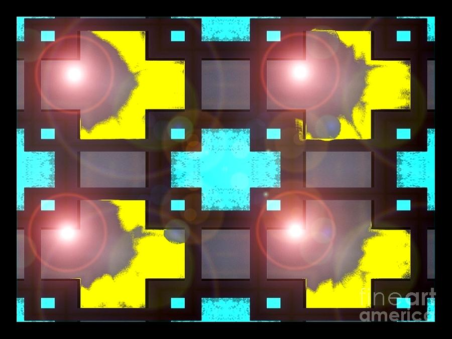Four Digital Art - Four Cycles Of The Moon by Graham Roberts